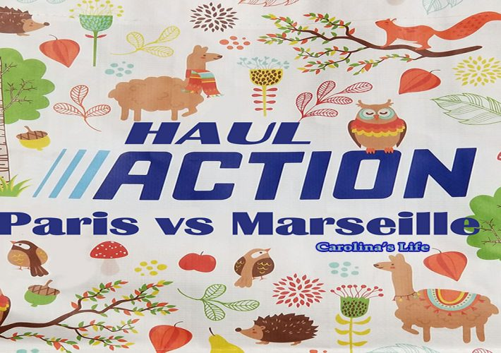 haul action paris vs Marseille