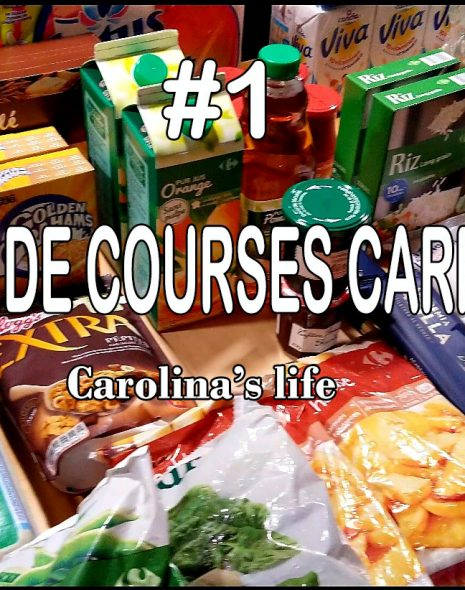retour-de-courses-carrefour-carolina-s-life
